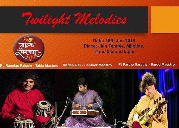 Twiligh Melodies - Partho Sarathy on Sarod, Madan Oak on Santoor