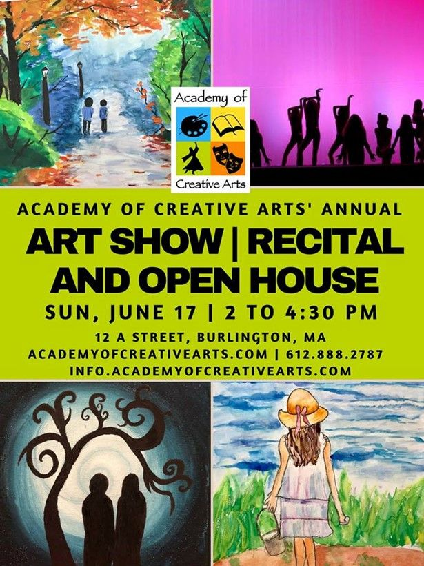 Academy's Annual Art Show, Recital and Open House