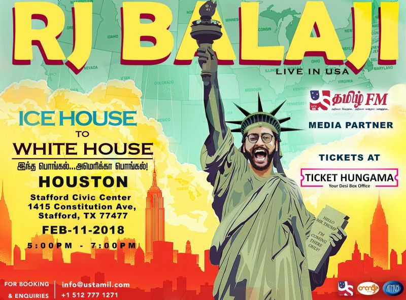 RJ Balaji Ice House to White House