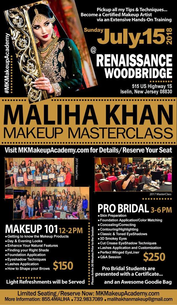 Makeup MasterClass by Maliha Khan