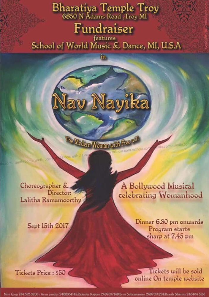 Nav Nayika - Bollywood Musical Event @ Bharatiya Temple
