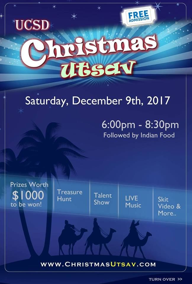 Christmas Utsav 2017 - Desi Christmas in San Diego