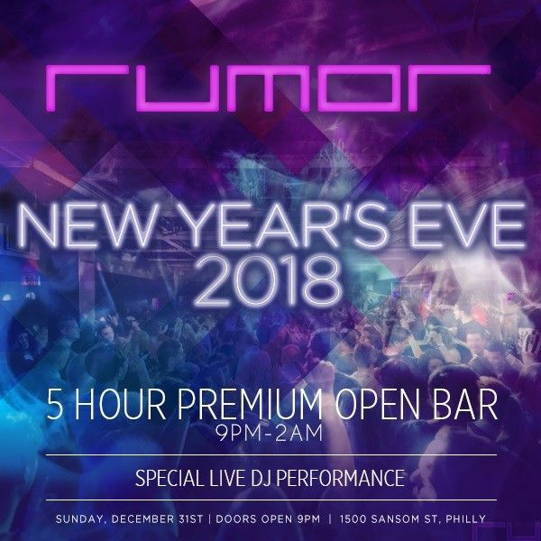 New Year Eve Party 2018