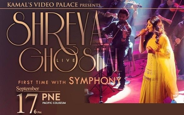 Shreya Ghoshal Live in Concert - Vancouver