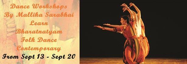 Dance Workshops by Mallika Sarabhai and Revant Sarabhai