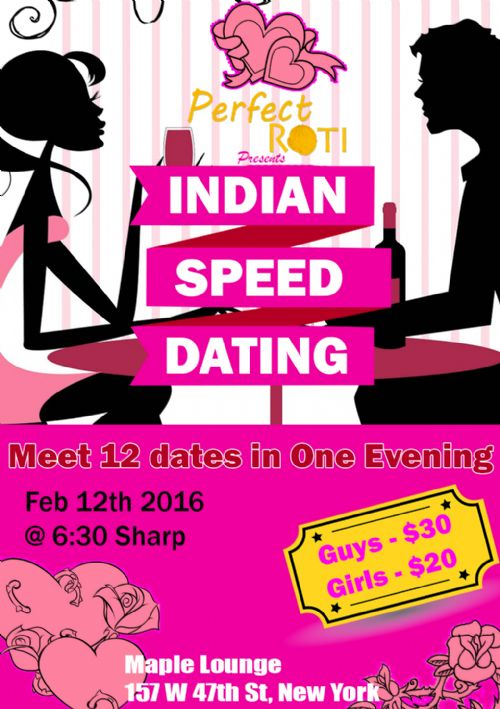 Indian speed dating