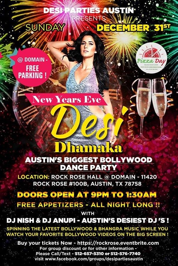 Desi Dhamaka - New Years Eve 2018