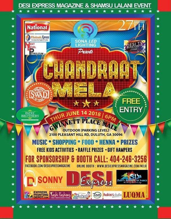 Chandraat Mela - Fun, Food, Shopping and Entertainment