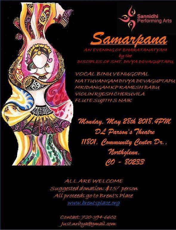 Samarpana - An evening of Bharatanatyam