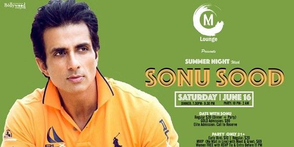 MSummer Night with SONU SOOD