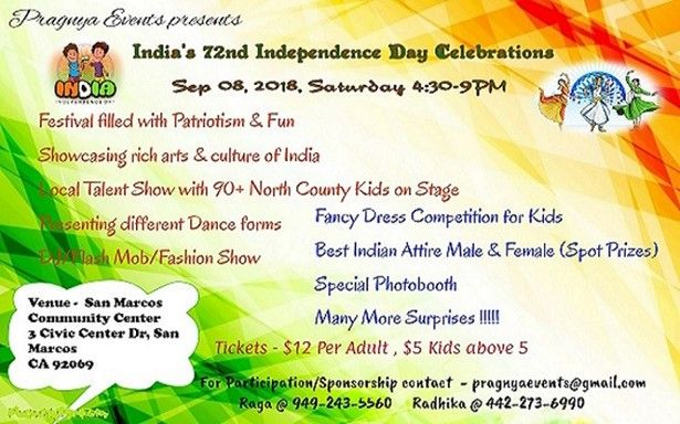 India's 72nd Independence Day Celebrations
