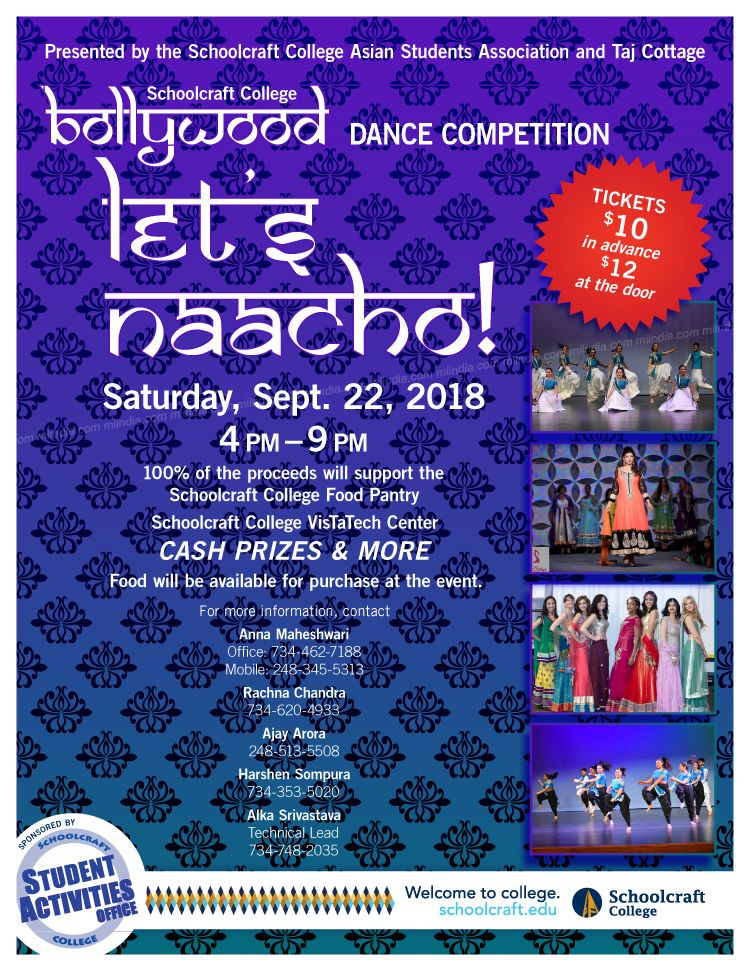 Let's Naacho - Bollywood Dance Competition