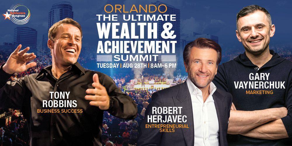 Tony Robbins and Gary Vaynerchuk Live!