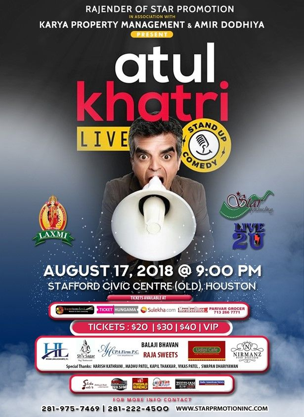 Atul Katri Live - Stan Up Comedy