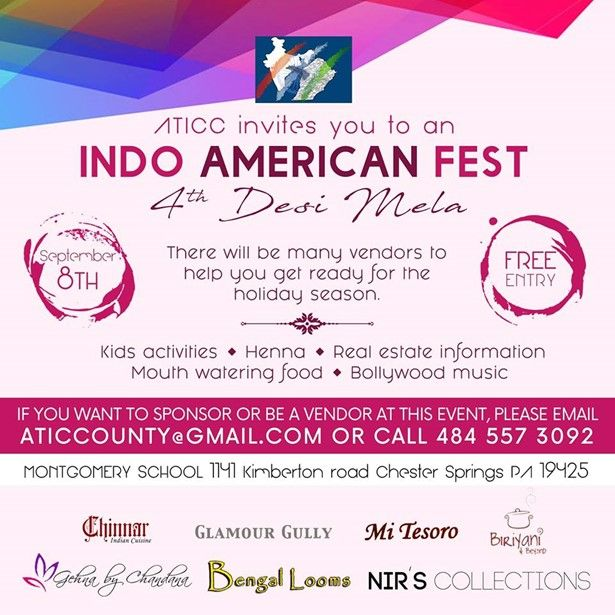 4th Indo American Shopping/Cultural Fest