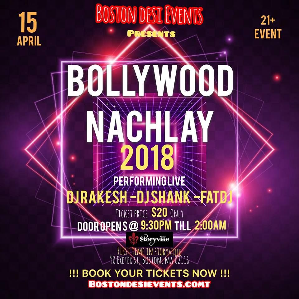 Boston desi events