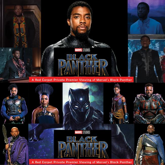 WAKANDA EXPERIENCE: A Private Red Carpet Premiere Of