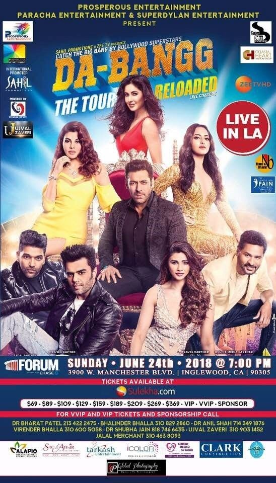Salman Khan and Team Live in Concert - Los Angeles