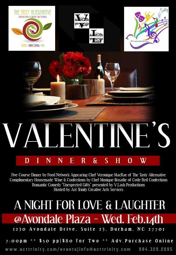 Valentine's Evening Dinner & Show