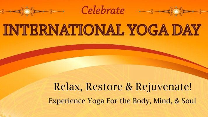 International Day of Yoga Celebrations