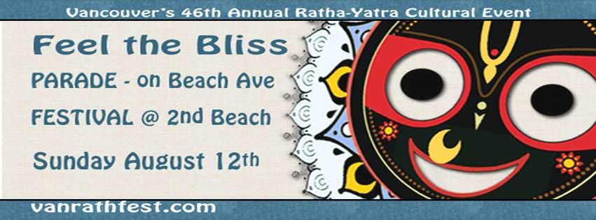 Vancouver's 46th Annual Ratha-Yatra