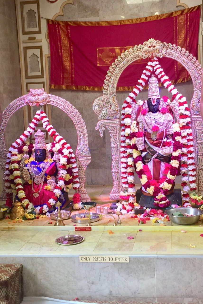 Balaji Abhishekam (every 3rd Sat of the month)
