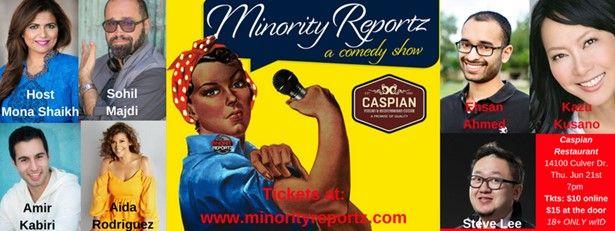 Minority Reportz Comedy Show
