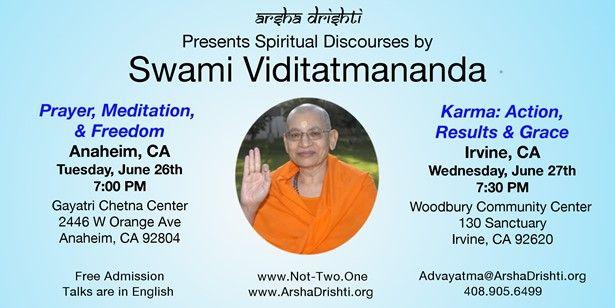 Prayer, Meditation, & Freedom - An Evening Talk with Swami Viditatmananda