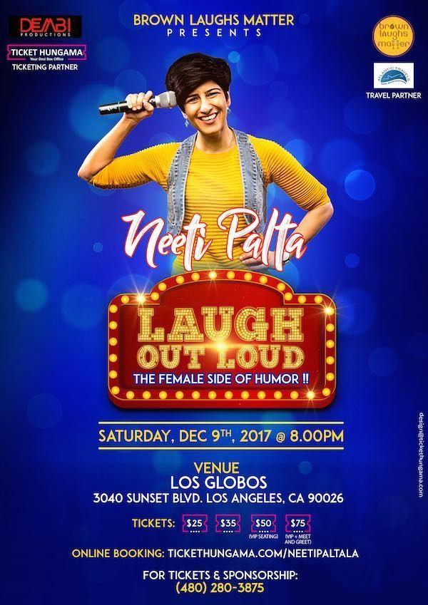 Neeti Palta live Stand-Up Comedy in LA