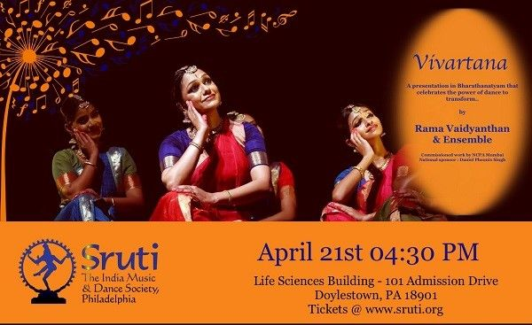 Vivartana - A Bharatanatyam Performance By Rama Vaidyanathan