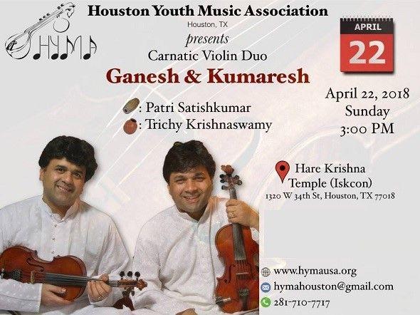 Violin Duet by Sri Ganesh & Sri Kumaresh