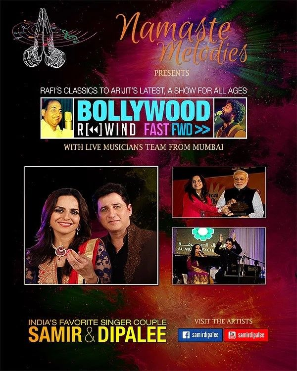 Bollywood Rewind & Fast Forward by Samir & Dipalee Date