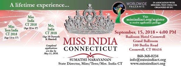 Miss India Connecticut 2018