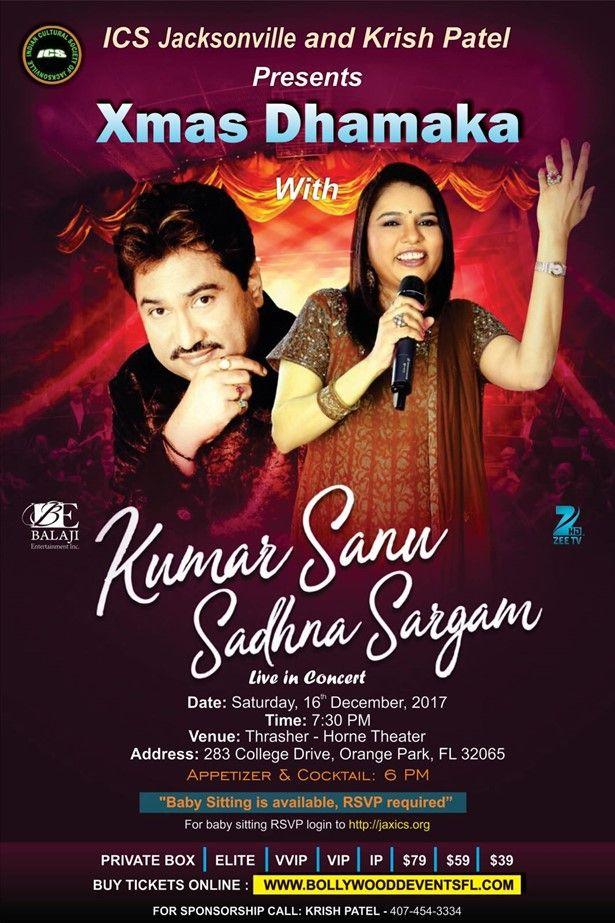 Kumar sanu & Sadhna sargam Live in Concert