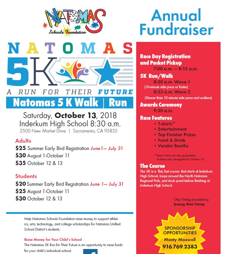 Natomas 5K 'Run For Their Future'