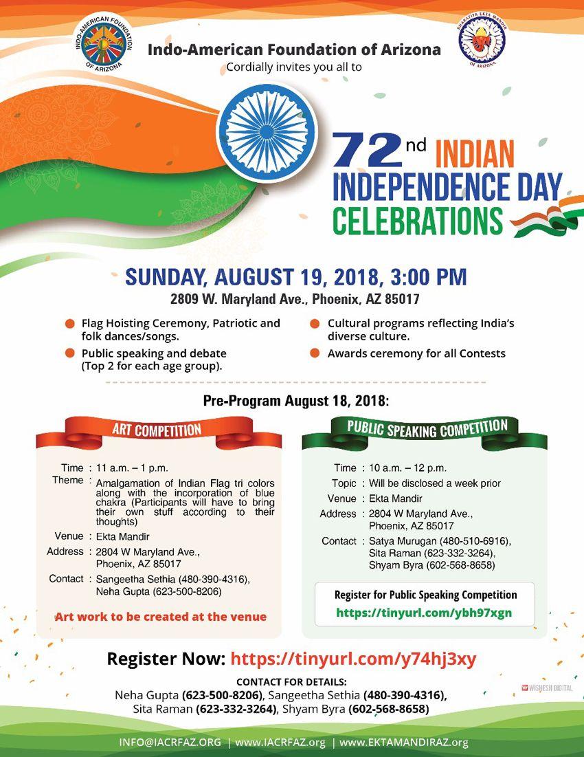 Independence Day Celebrations (Indo Foundation)