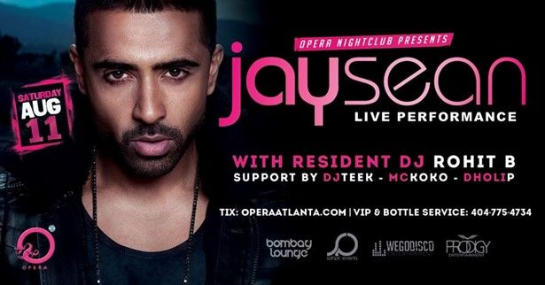 Opera International Saturdays ft. JAY SEAN
