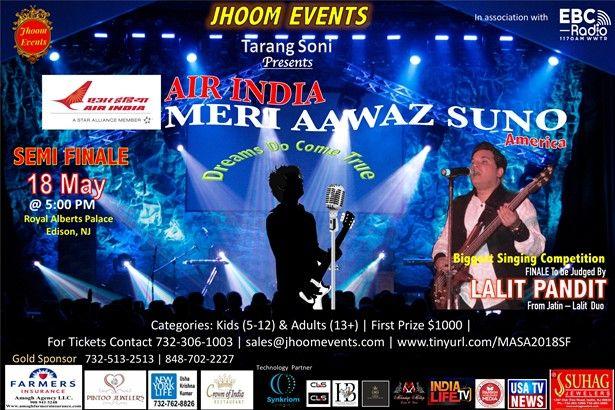 Meri Aawaz Suno America-SEMI FINALE