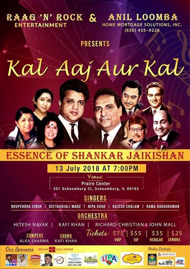 KAL AAJ AUR KAL Essence of Shankar Jaikishan