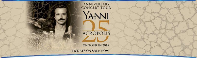 Date : 6/9/2018 - 6/9/2018. Venue: The Greek Theatre City :Los Angeles  Details: Yanni at Los Angeles, CA