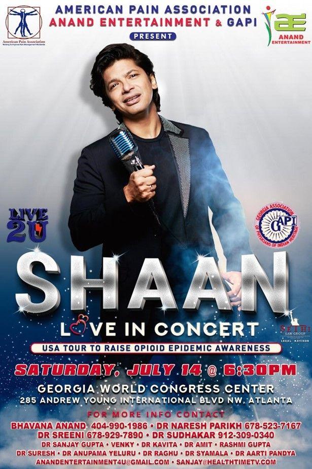 Shaan Live concert in Atlanta