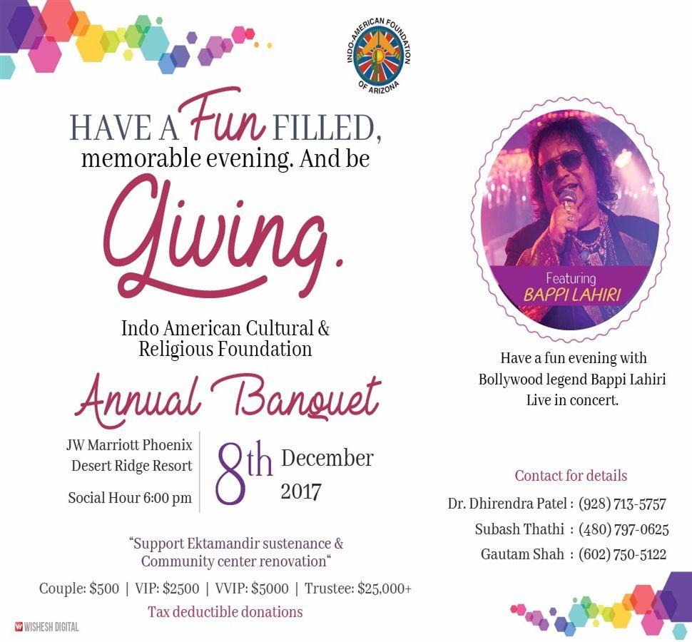IACRF - Annual Banquet