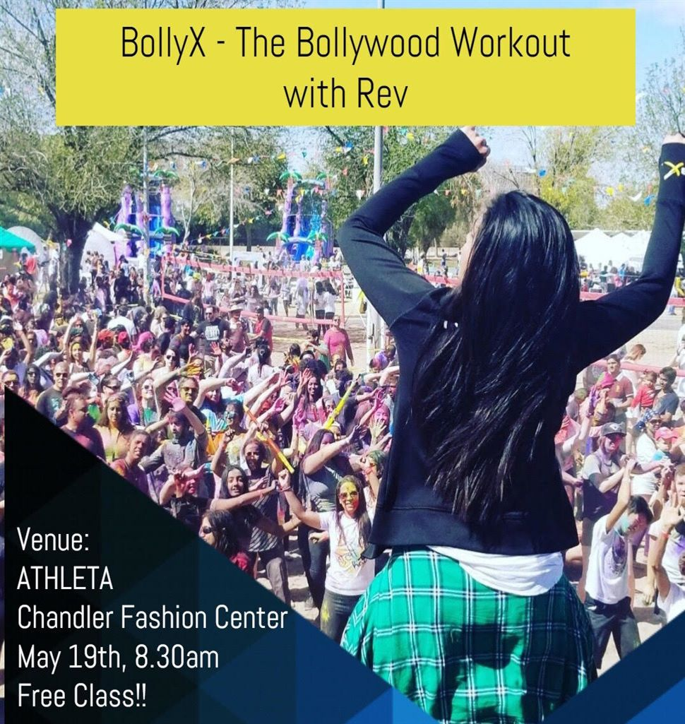 BollyX The Bollywood Workout with Rev