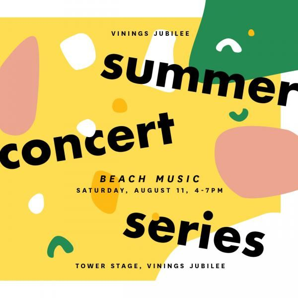 Vinings Jubilee Summer Concert Series featuring The Stephen Lee Band