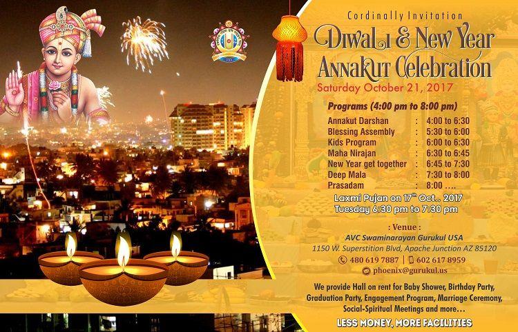Diwali & New Year Annakut Celebrations