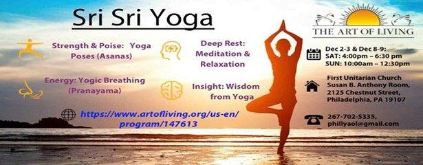 Sri Sri Yoga in Philadelphia