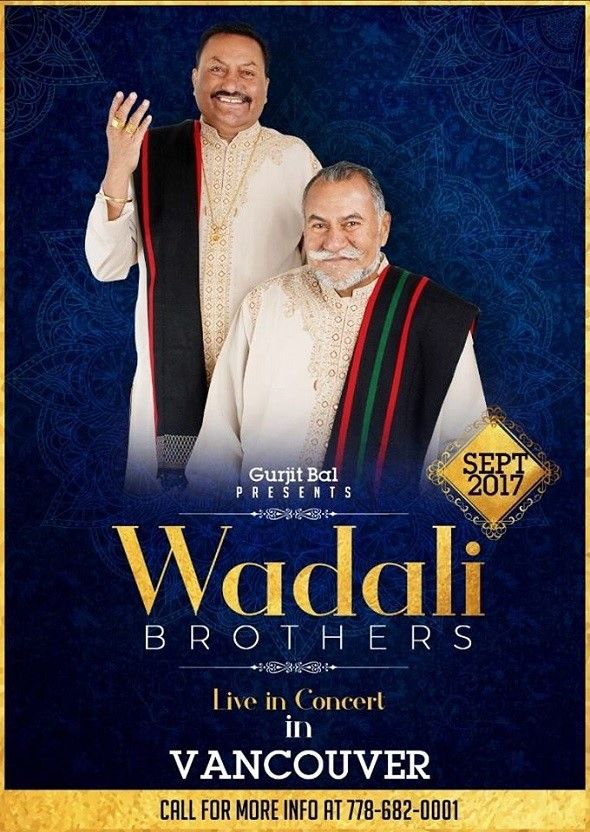 Wadali Brothers Live in Vancouver
