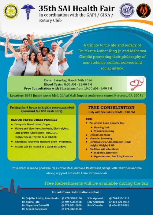 SAI Health Fair
