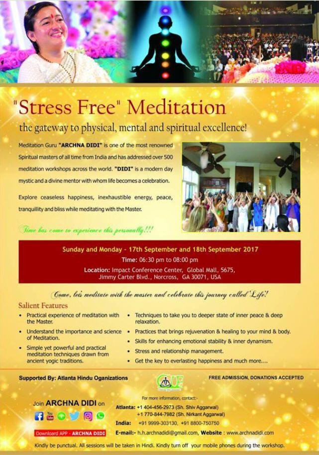 Stress Free Meditation