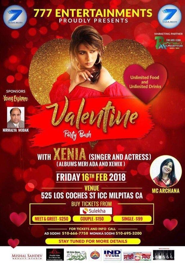 Valentine Party Bash 2018